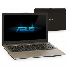 "Ноутбук Asus VivoBook X540NV-GQ072 Pen N4200/4Gb/500Gb/DVDRW/920MX 2Gb/15.6""/HD/Endless/black"